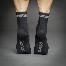 GripGrab Merino Regular Cut Socks 3-Pack Black